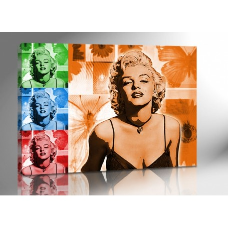 MARYLIN MONROE COLOR ART 140 x 100 cm