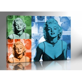 MARYLIN MONROE COLOR ART 140 x 100 cm