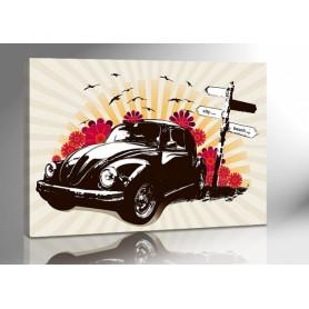 VW KÄFER LOUNGE 140 x 100 cm