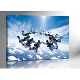 GROUP SKYDIVE 140 x 100 cm