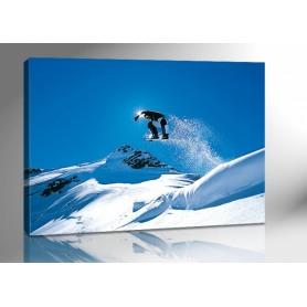 SNOWBOARD JUMP 140 x 100 cm
