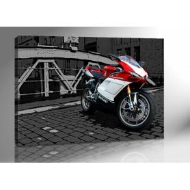 DUCATI 1098s ART 140 x 100 cm