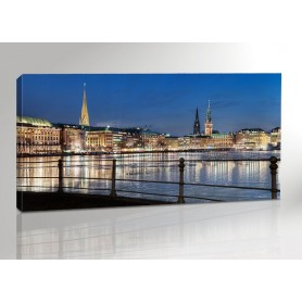 Hamburg Alster Lights 200 x 100 cm