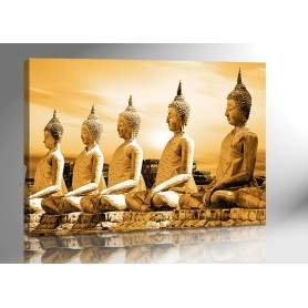 BUDDHA THAILAND GOLD 140 x 100 cm
