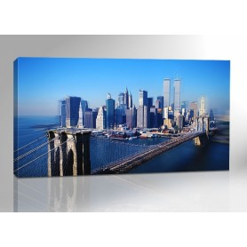 NEW YORK SKYLINE COLOR 200 x 100 cm Nr. 746