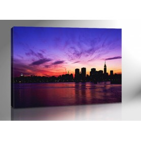 NEW YORK SUNSET 140 x 100 cm
