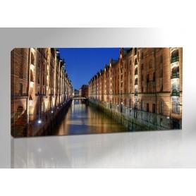 Hamburg Speicherstadt Revolution 200 x 100 cm
