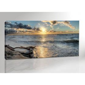 DARSS SUNSET | OSTSEE | FISCHLAND | 200 x 100 cm