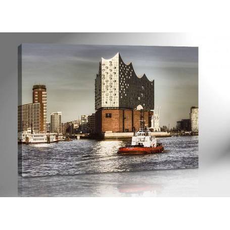 Hamburg Elbphilharmonie 140cm x 100cm