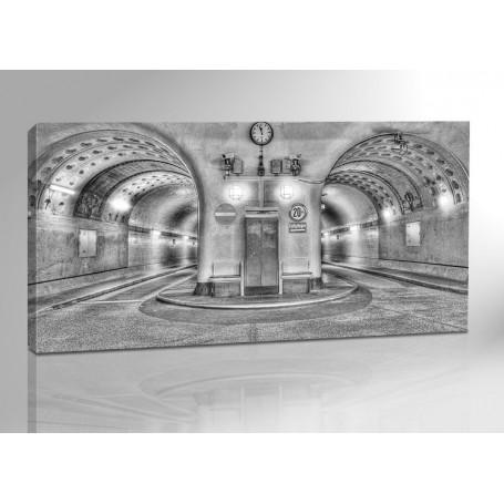 Hamburg alter Elbtunnel II 200 x 100 cm