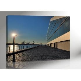 HAMBURG DOCKLAND SUN 140 x 100 cm