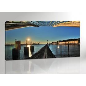 Hamburg Dockland Panorama 200 x 100 cm