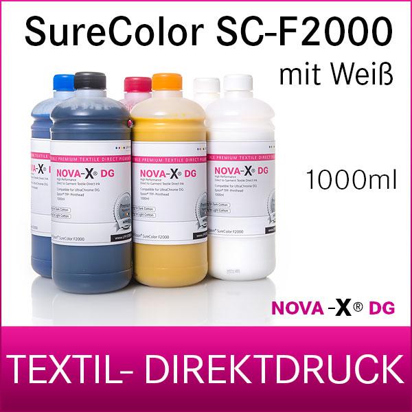 NOVA-X® DG | 1L | Pigment Textiltinte für Epson SureColor SC-F2000