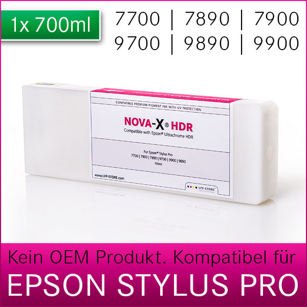 Tintenpatrone NOVA-X® HDR | 700ml kompatibel Epson StylusPro 7700 7900 9700 9900