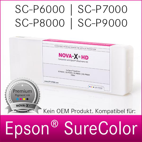 Tintenpatrone Epson SureColor SC-P6000, P7000, P8000, P9000  | 700ml kompatibel