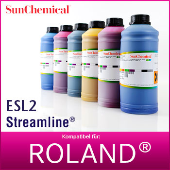 1L Streamline® ESL2 HPQLO | Roland® Eco-Sol Max 2 und 3 kompatibel