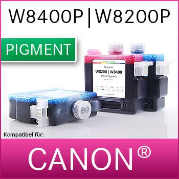 Tintenpatrone | NOVA-X® CW Pigmenttinte für Canon® W8200,W8400 | Pigment | 330ml