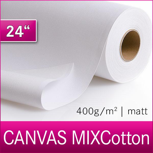 1 Rolle MIXCotton | Inkjet Canvas | Leinwand | 400M | 61 cm x 18m