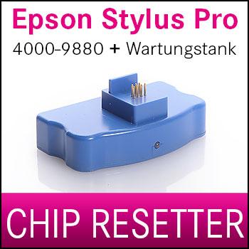 Chip Resetter für Epson® Stylus Pro Tintenpatronen & Maintenance Tank