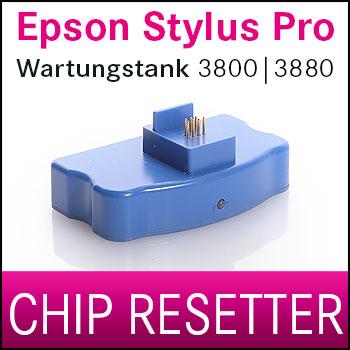 Chip Resetter NUR Wartungstank kompatibel Epson® Stylus Pro 3800 | 3880