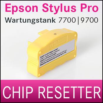 Chip Resetter NUR Wartungstank kompatibel Epson® Stylus Pro 7700/ 9700
