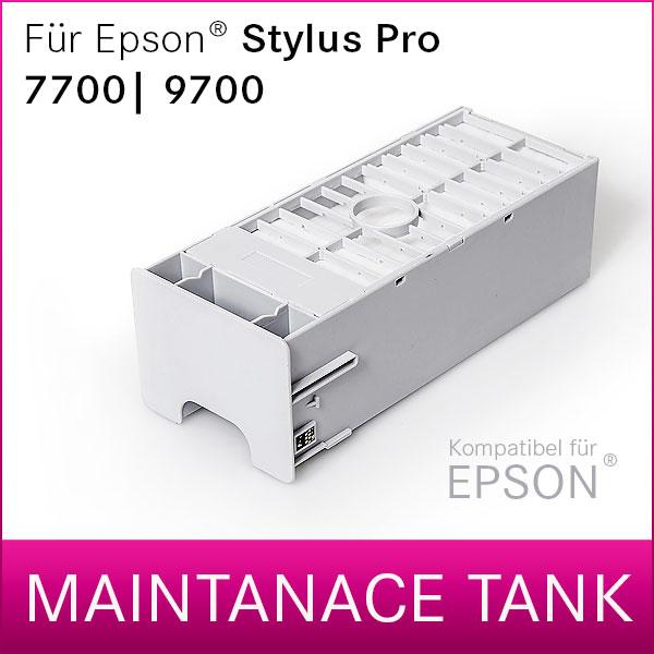 Wartungstank kompatibel für Epson® Stylus Pro 7700   9700