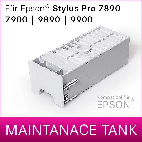 Wartungstank kompatibel für Epson® Stylus Pro 7900   9900   7890   9890