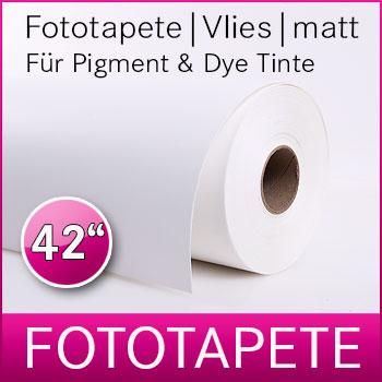 1 Rolle inkjet Fototapete | Matt | 190M | Pigment und Dye | 106,7 cm x 50 m