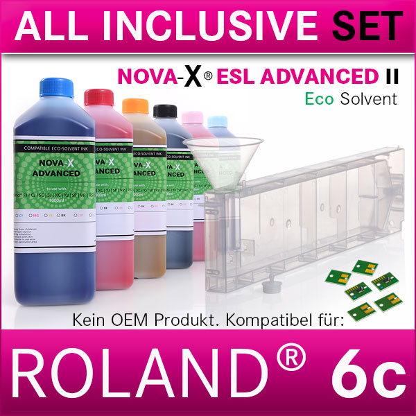 6c | Starterset Roland®  | NOVA-X® ESL ADVANCED II | Permanent Chip