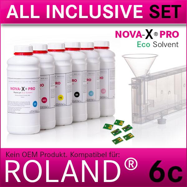 6c | Starterset Roland® | NOVA-X® PRO | Permanent Chip