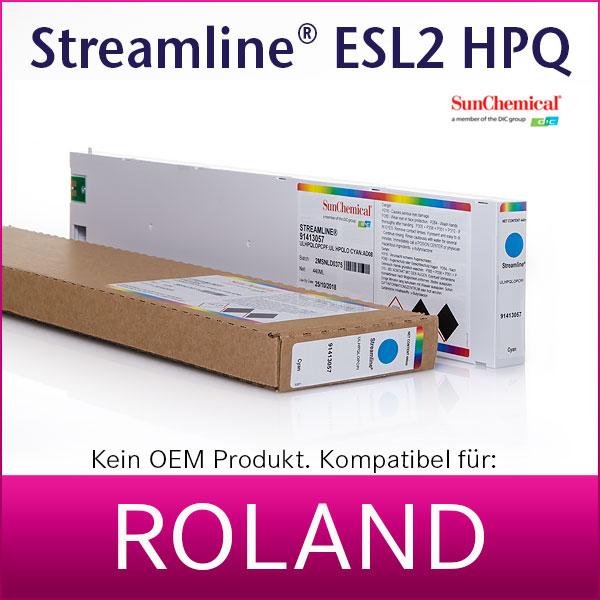 Streamline® ESL2   Tintenpatrone für Roland® Eco-Sol Max2   440ml   kompatibel