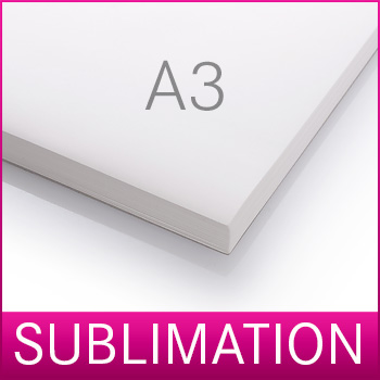 Sublimationspapier Papier für Sublimation 100 Blatt A3