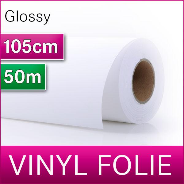 Vinyl-Folie   Glossy   1,05m x 50m   MediaJet® SVF5001