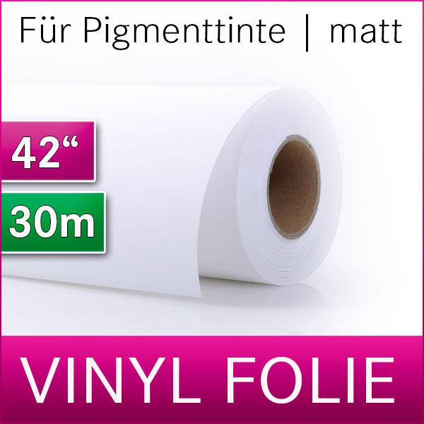 1 Rolle WR Outdoor Vinylfolie | selbstklebend | matt | 106,8 cm  x 30m