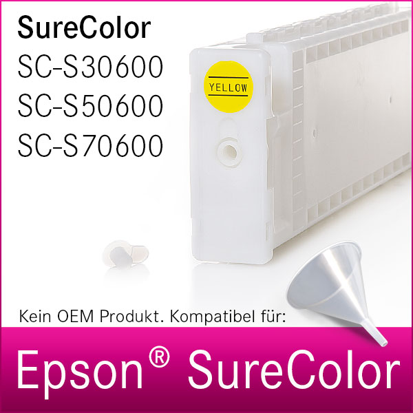 Leere Tintenpatrone | für Epson® SureColor S30600 | S50600 | S70600