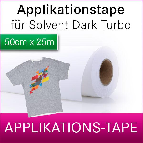 1 Rolle Applikationstape für Solvent Dark Turbo | 50cm x 25m