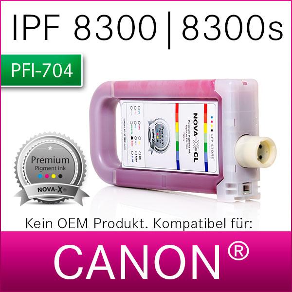 PFI-704 | NOVA-X® CL Pigmenttinte kompatibel für Canon® IPF 8300 | 8300s | 8350