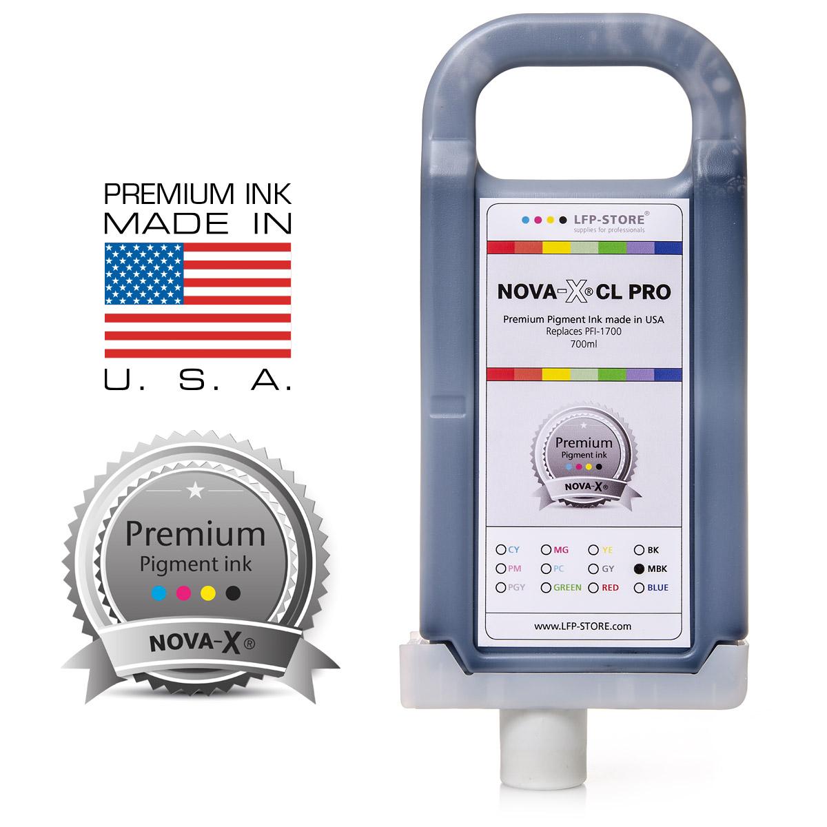 PFI-1700 | NOVA-X® PRO Pigmenttinte für Canon® IPF PRO 2000 | 4000 | 6000
