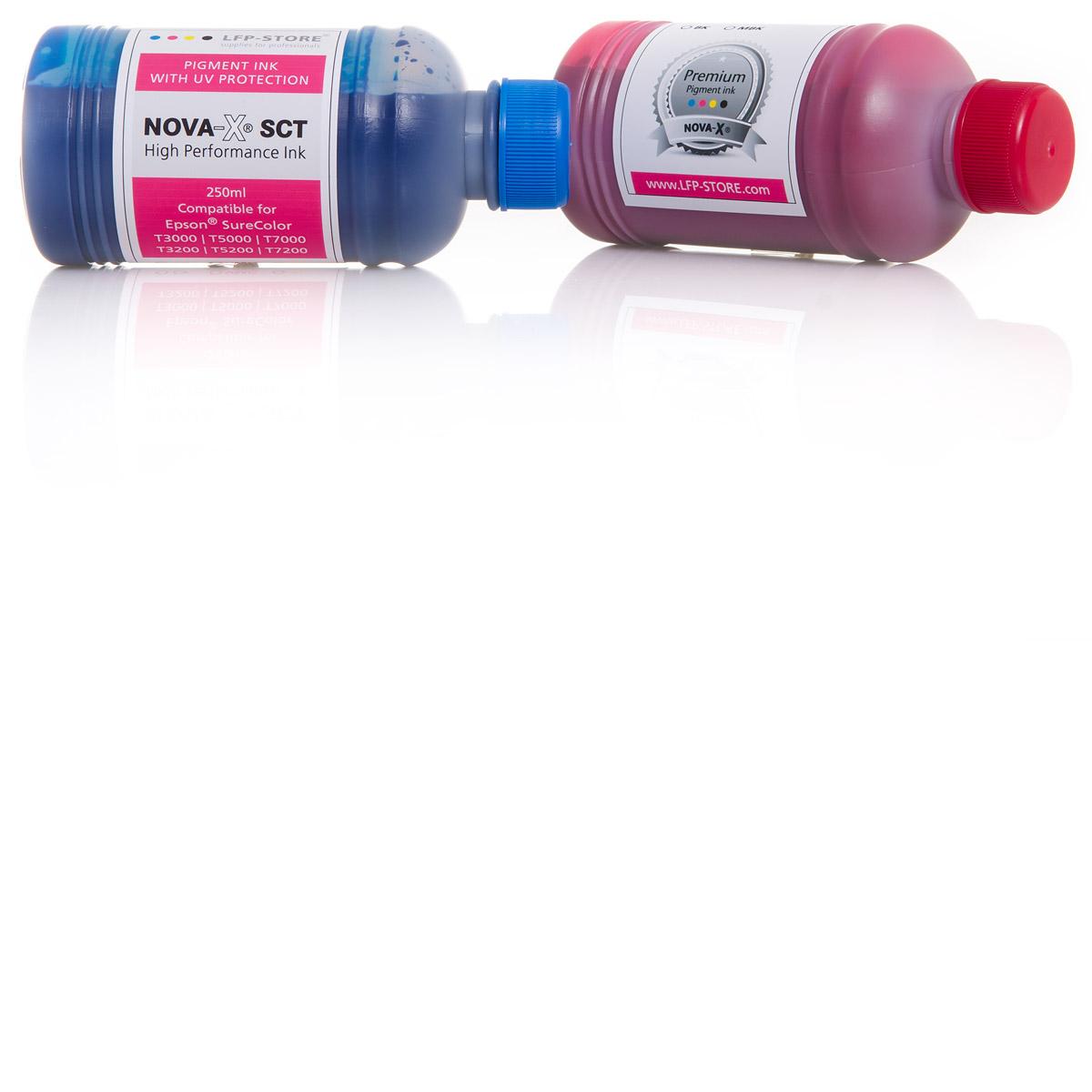 250ml NOVA-X® SCT Tinte kompatibel für Epson® SureColor SC- T3200 T5200 T7200