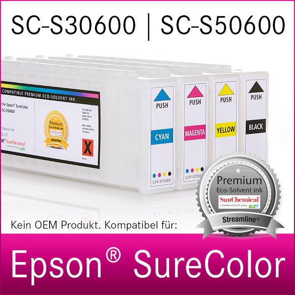 700ml Tintenpatrone | für Epson SureColor SC-S30600 | S50600 | Premium Tinte