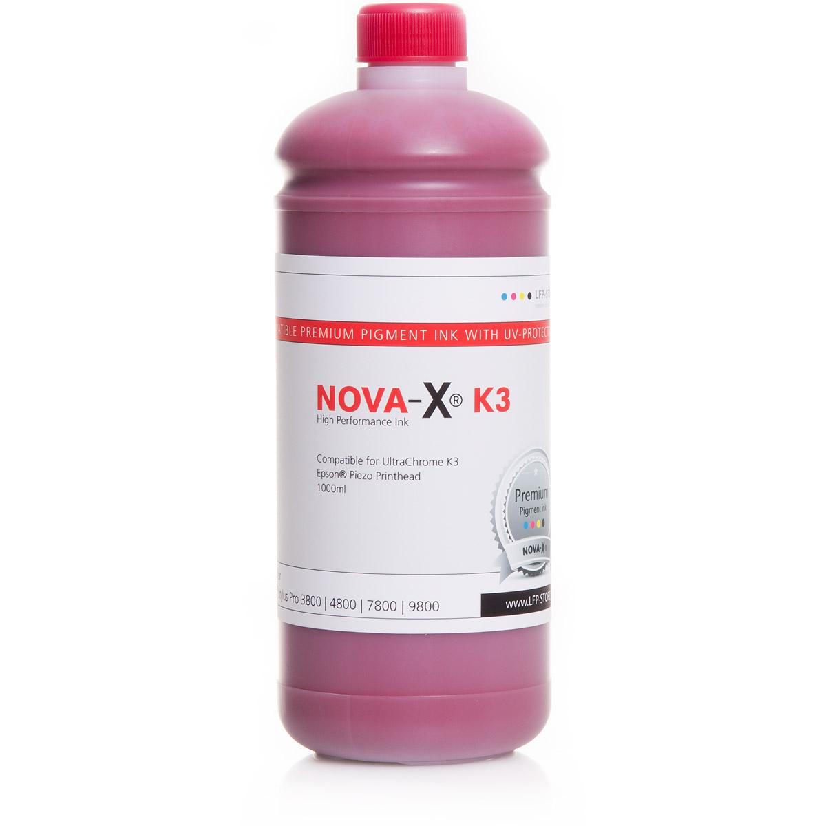 8 Liter NOVA-X® K3 Tinte für Epson® Stylus 3800 | 4800 | 7800 | 9800
