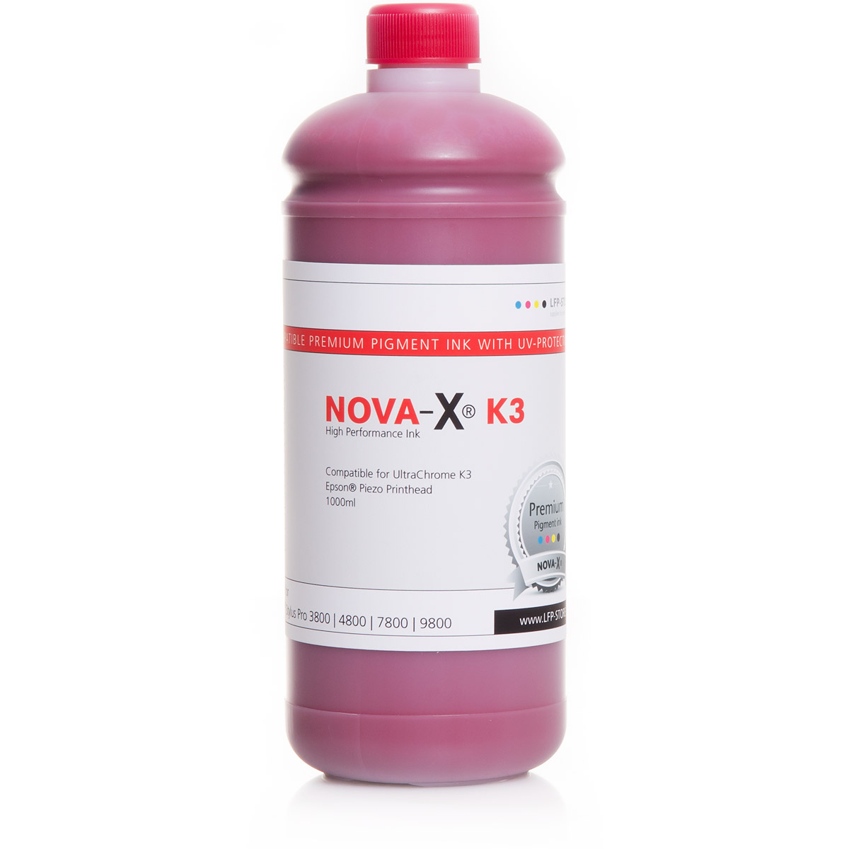 1L NOVA-X® K3 Pigmenttinte kompatibel für Epson Stylus Pro 3800 4800 7800 9800