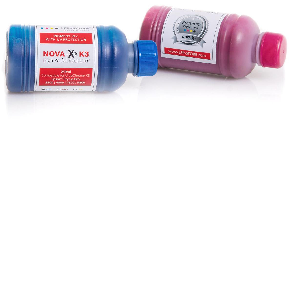 250ml NOVA-X® K3 Pigmenttinte kompatibel Epson Stylus Pro 3800 4800 7800 9800