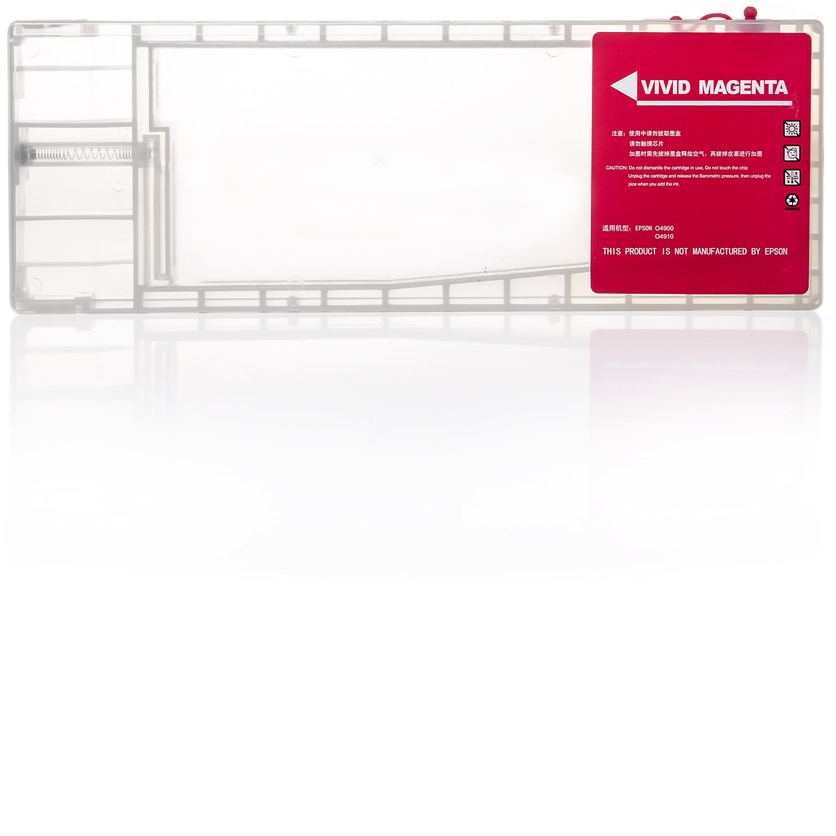 Leere Tintenpatrone | kompatibel für Epson Stylus Pro 4900 | Auto-Reset-Chip