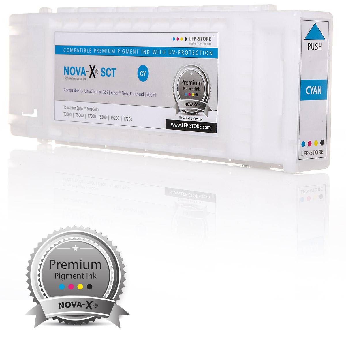 Tintenpatrone NOVA-X® SCT | kompatibel für Epson SureColor T3200 | T5200 | T7200