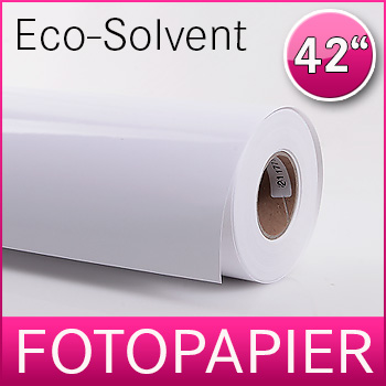 1 Rolle Eco-Solvent Fotopapier | Glossy | 240G | 107 cm x 30 m