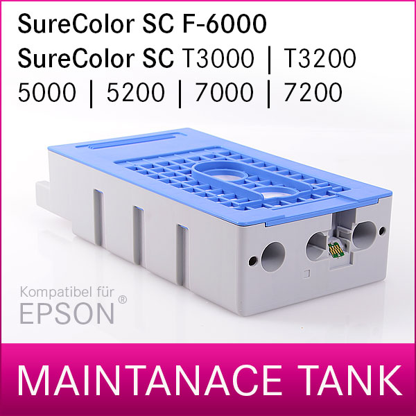 Wartungstank Epson® SureColor F-6000, T3000, T3200, T5000, T5200, T7000, T7200