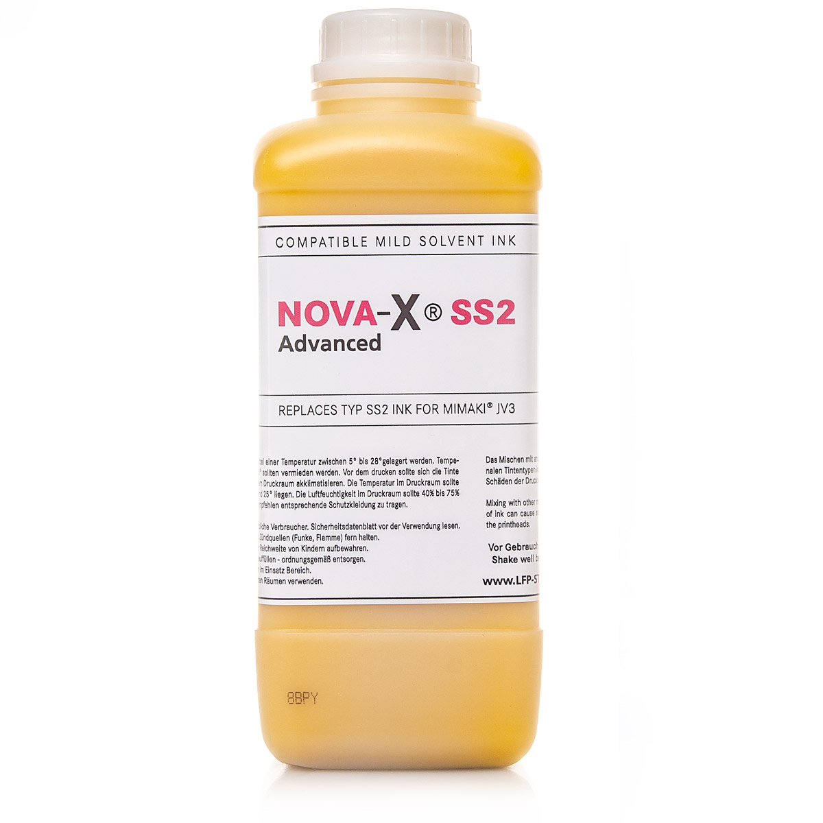 1L NOVA-X® ADVANCED | SS2 | Premium Solvent Ink for Mimaki® JV3