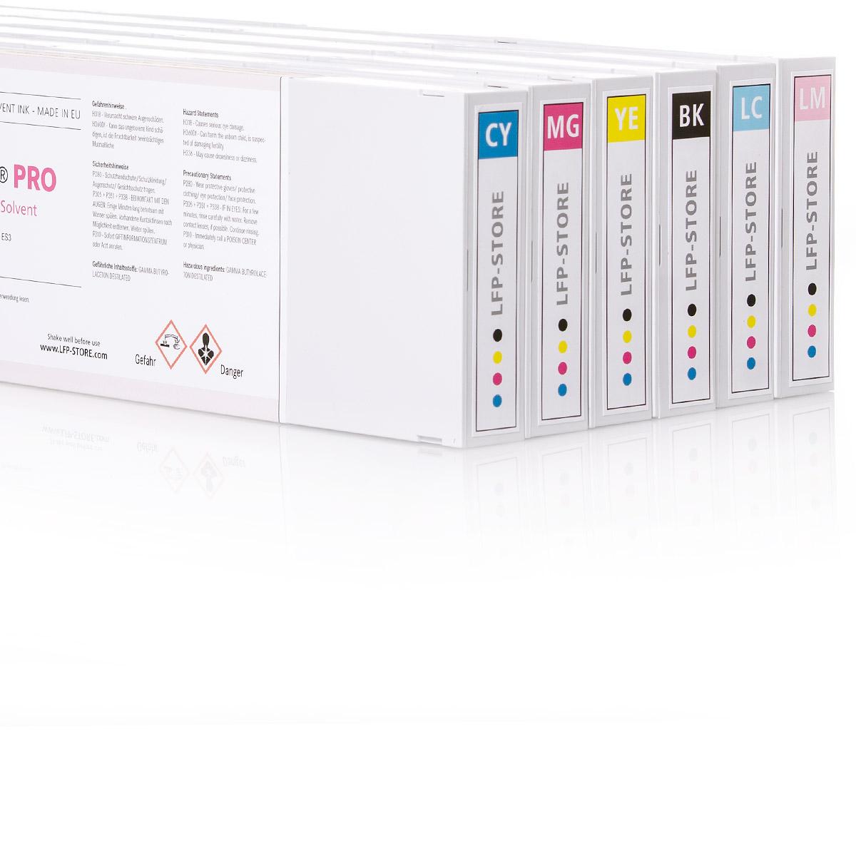 6x NOVA-X® PRO SS21 Tintenpatrone | für Mimaki® JV33 | JV34 | JV150 | JV300 |CJV
