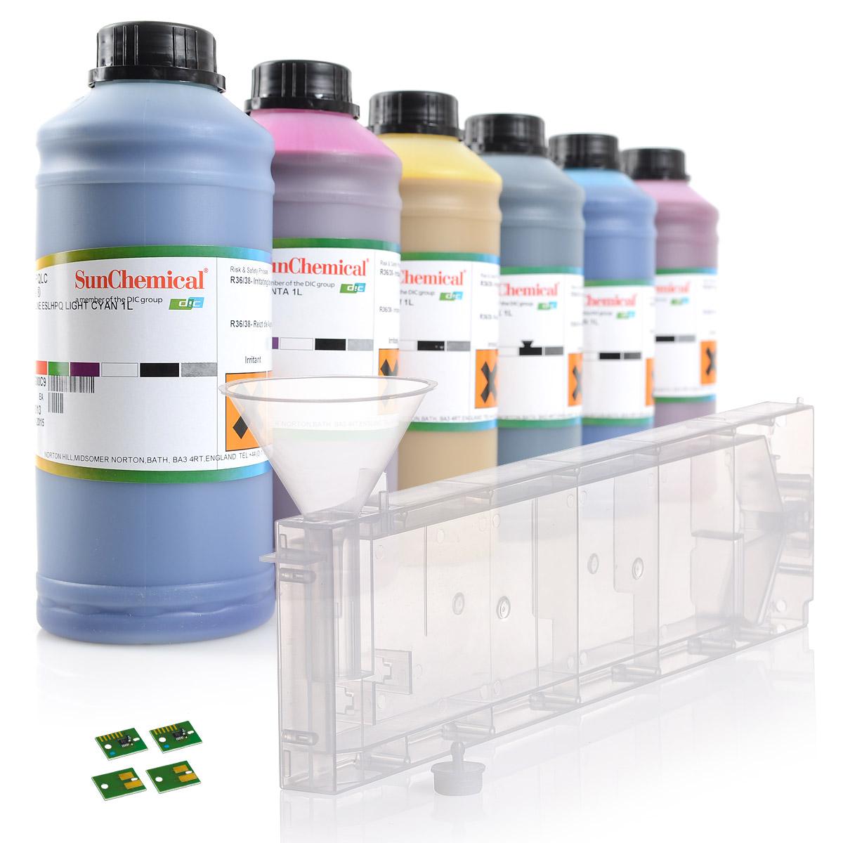 6c Starterset | Streamline® SS21 | für Mimaki® JV33|CJV30|JV5| m. Permanent Chip